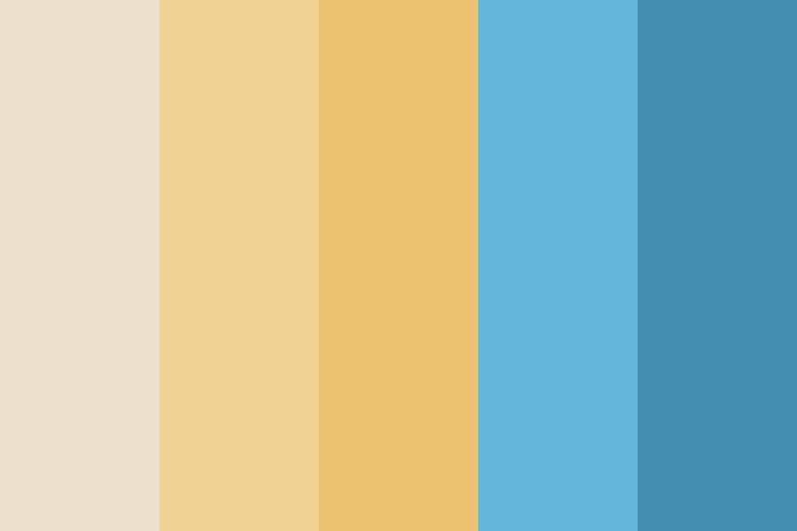 Beach Sunday Color Palette