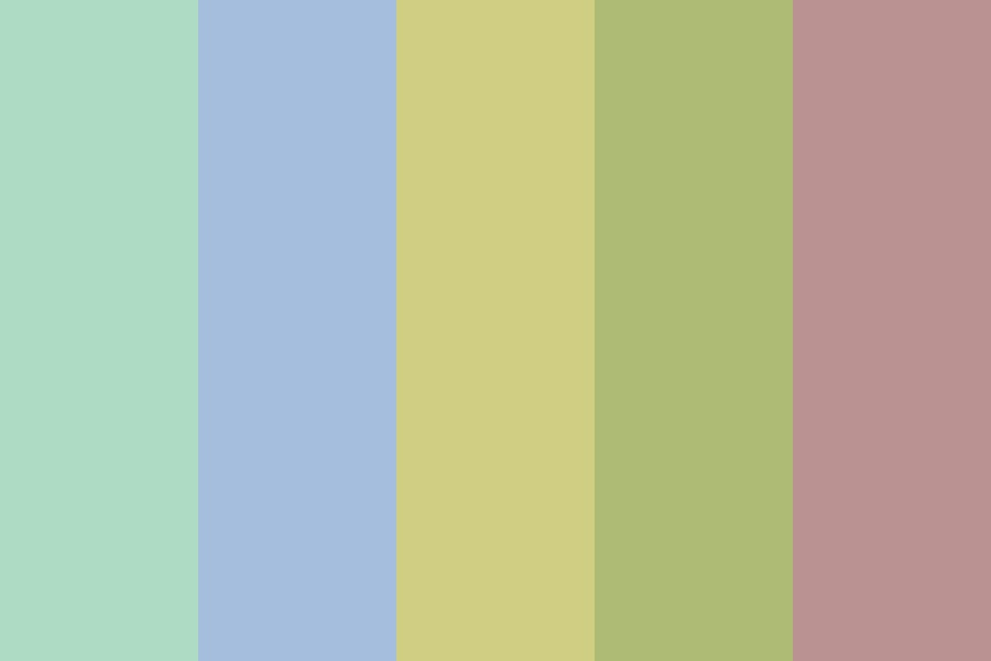 Beach Towel Vibes Color Palette