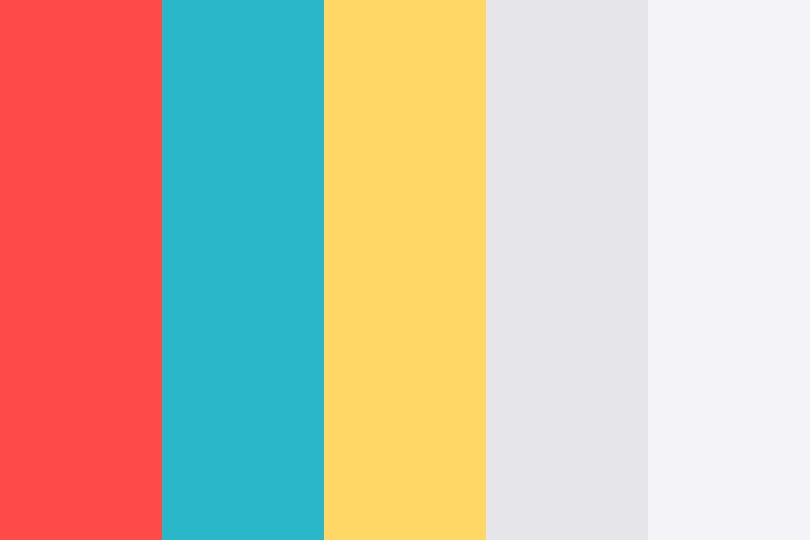 Beach Towels Color Palette