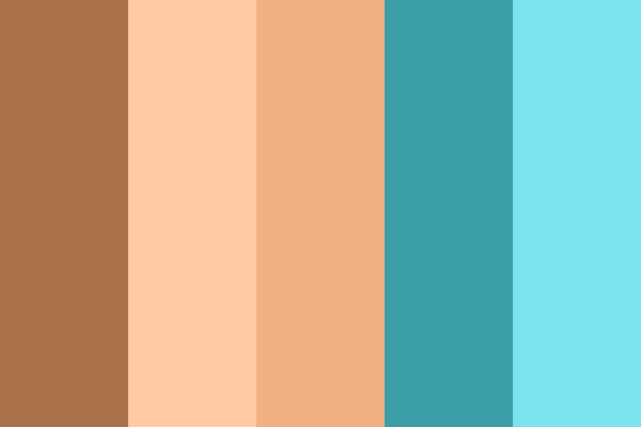 Beach Vibes Color Palette