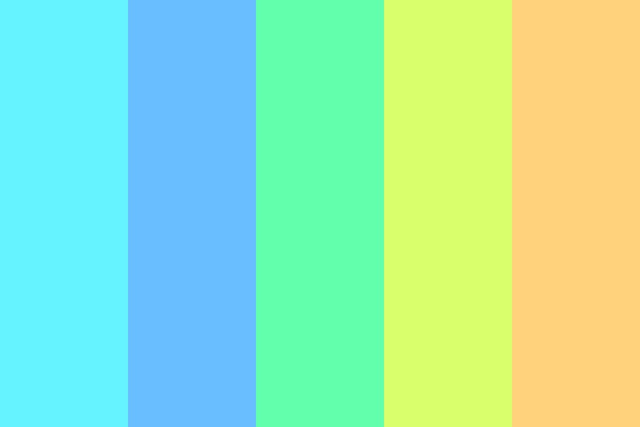 Beachball Color Palette