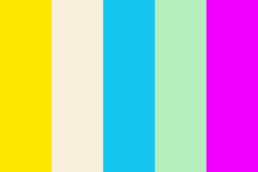 Beachside Colors Color Palette