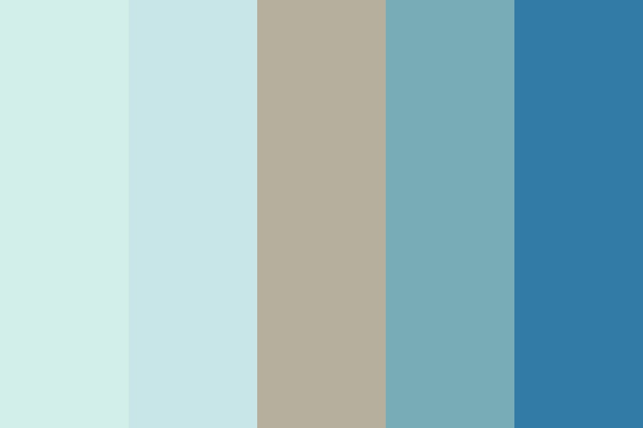 Beachy Vibes Color Palette