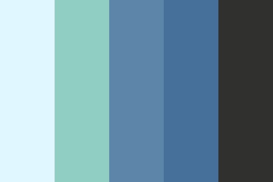 Beautiful Blue Color Palette