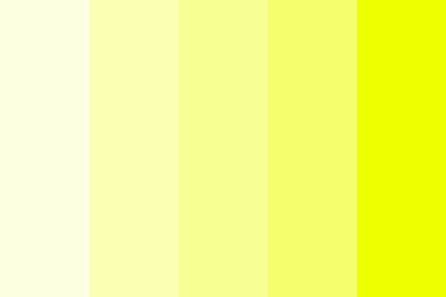 Beautiful Yellows Color Palette