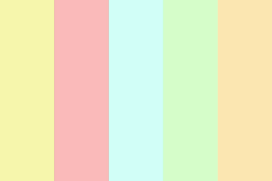 Beautifully Crafted Pastels Color Palette