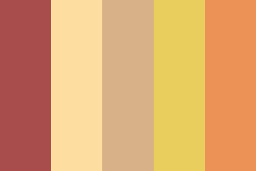 Beginning Of Autumn Color Palette