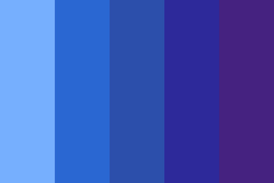 Beginning Of Darkness Color Palette