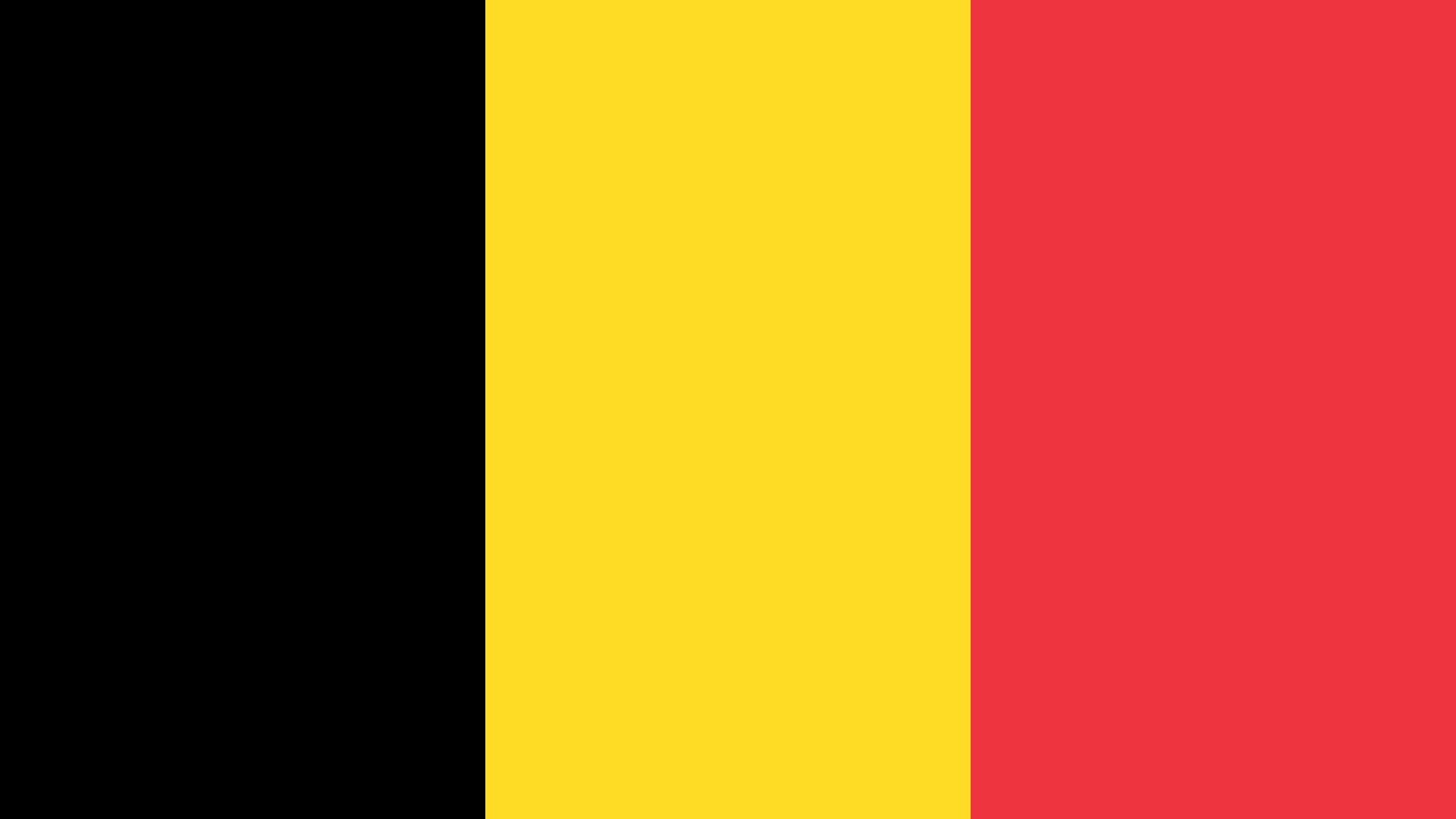 Belgium Flag Color Palette