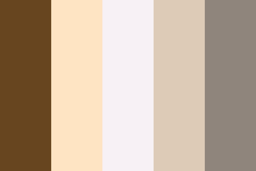 Bellota Brown Color Palette
