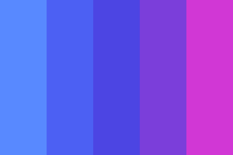 Berryrainbow Color Palette