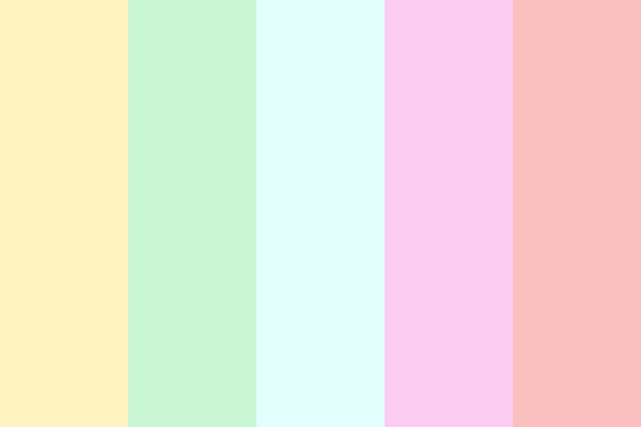 Best Pastels Color Palette