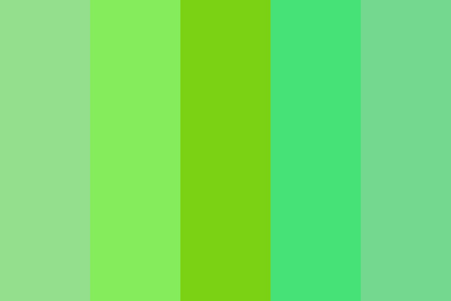 Binary Or A Forest Color Palette