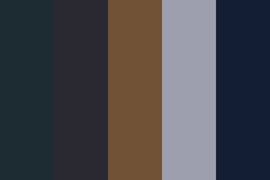 Black And Brown And Gray Color Palette