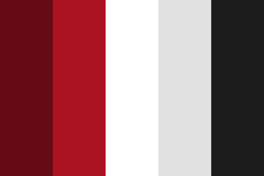 Black And Red Color Palette