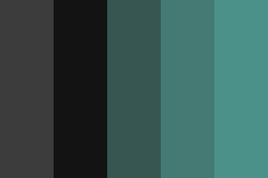 Black As Night Color Palette