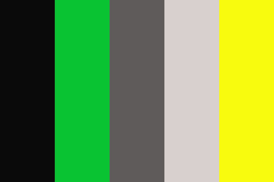 Black Cat Color Palette