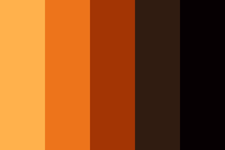 Black Figure Color Palette