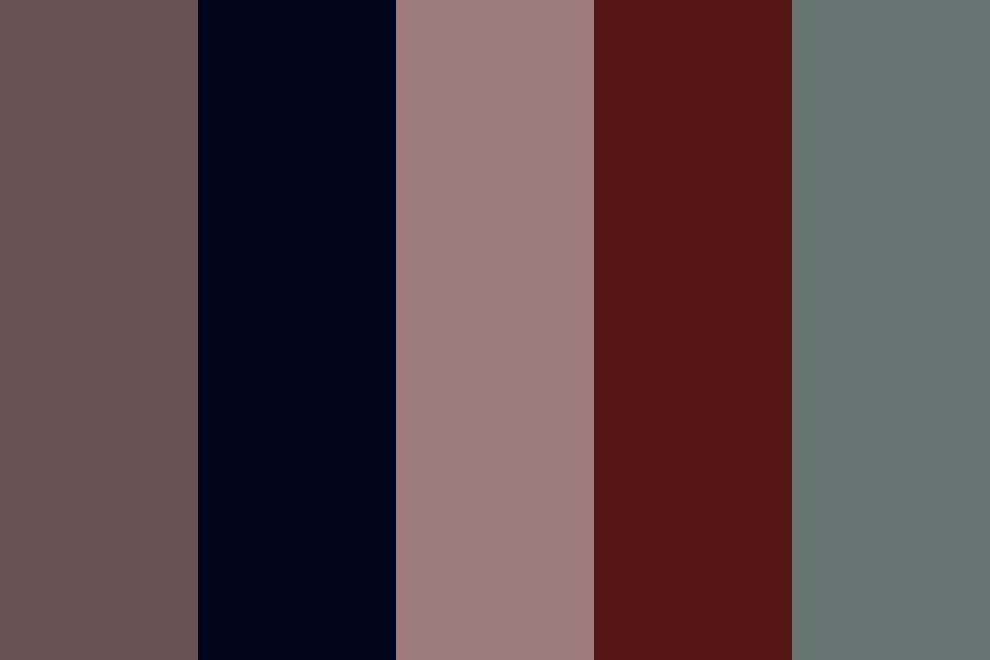 Black Harmony Color Palette