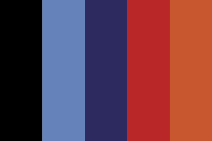 Black Holes And Revelations Color Palette