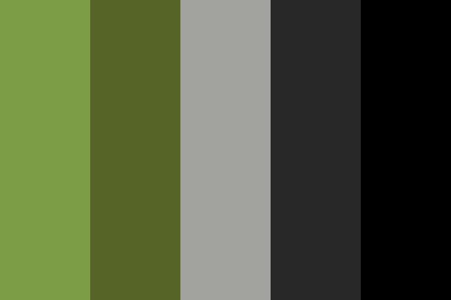 Black Jungle Color Palette