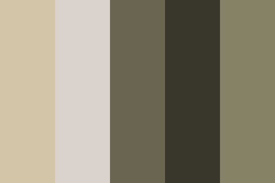 Black Tahitian Pearls Color Palette