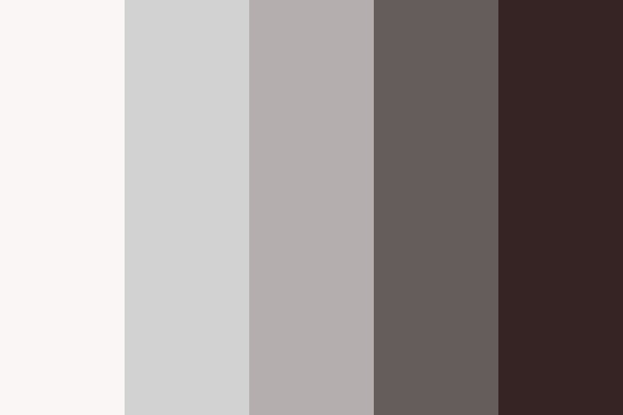 Black To White Color Palette