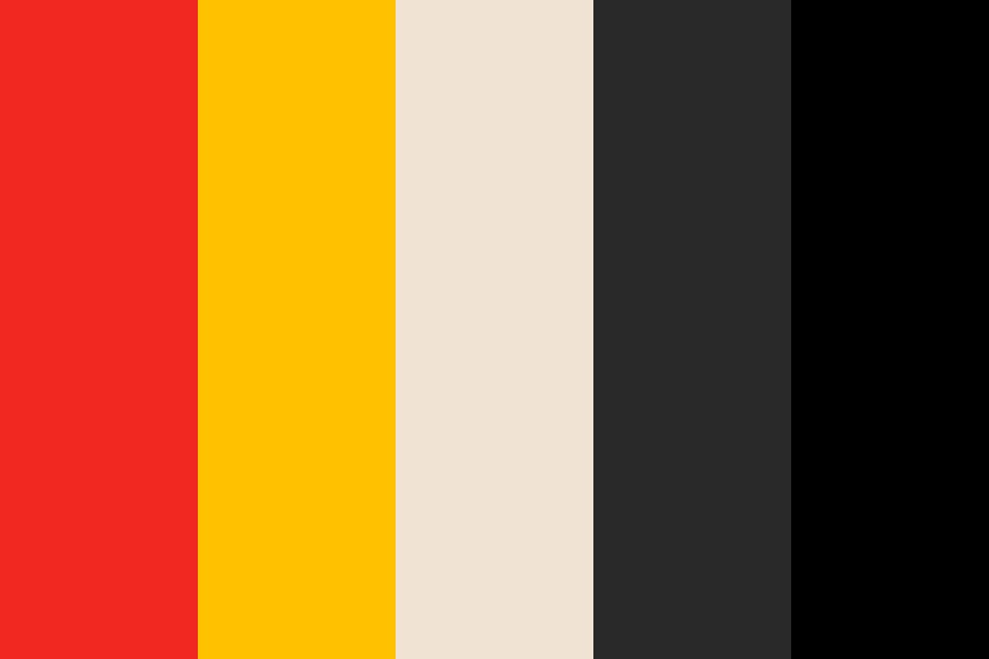 Black Widow Color Palette