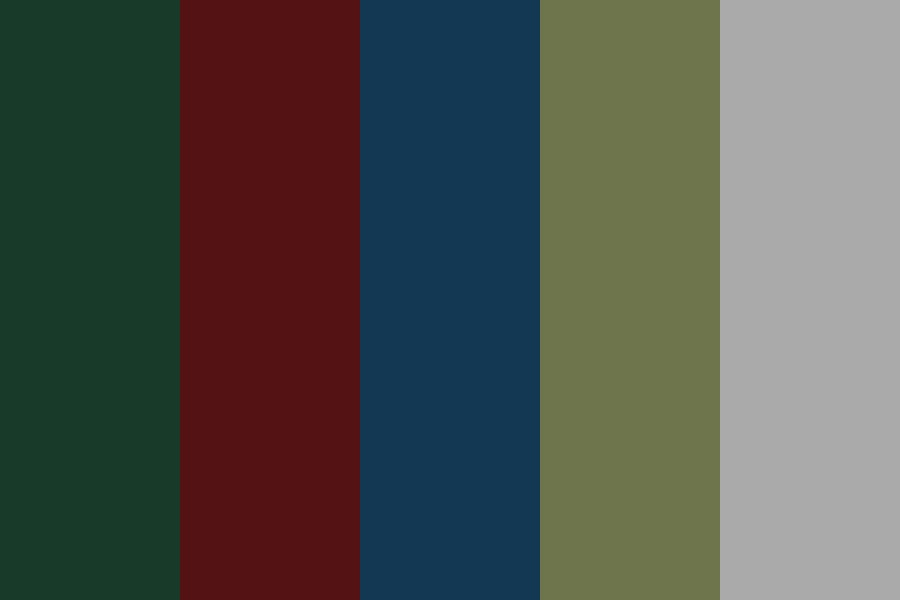 Blog Aesthetic Color Palette