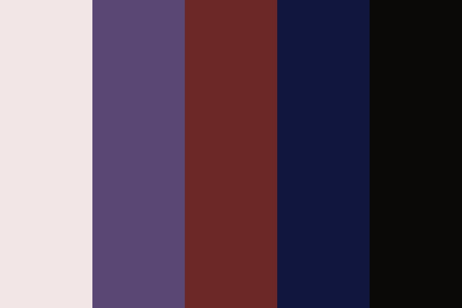 Blood Moon Color Palette