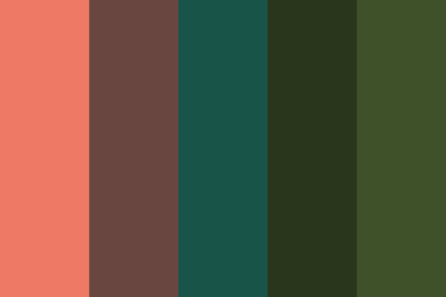 Blood Moon Field Color Palette