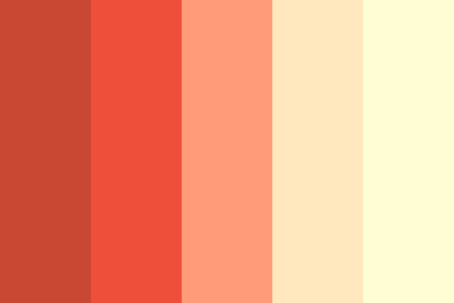 Blood Orange Sky Color Palette