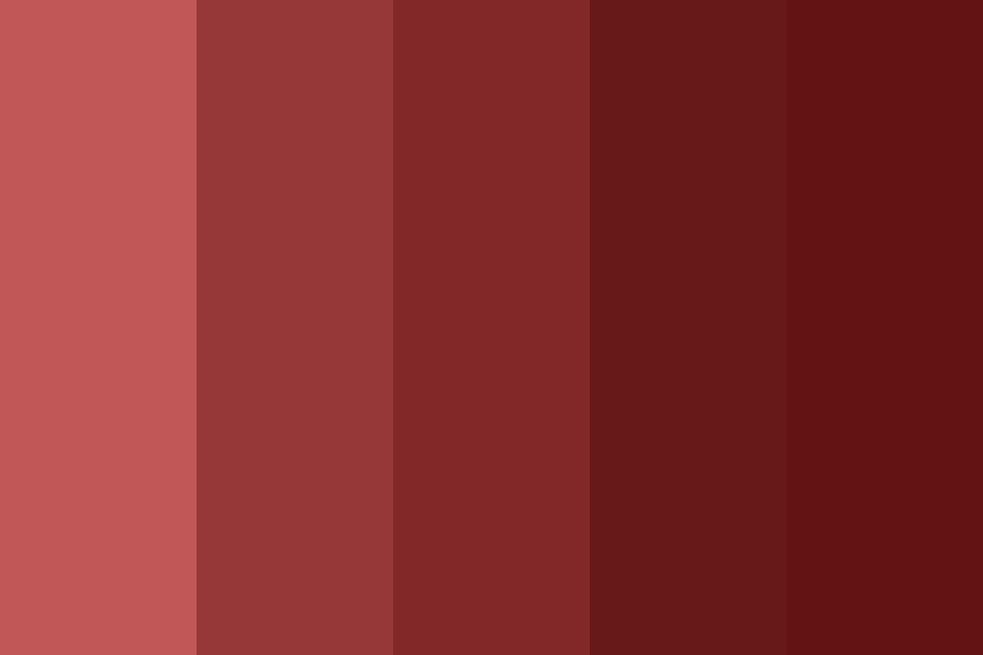 Blood Red Drip Color Palette