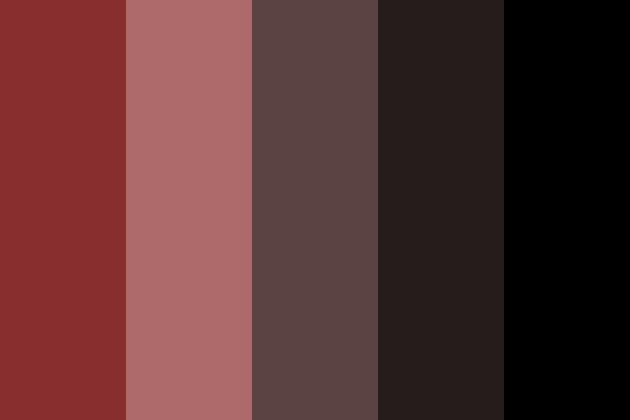 Bloodmoon Color Palette