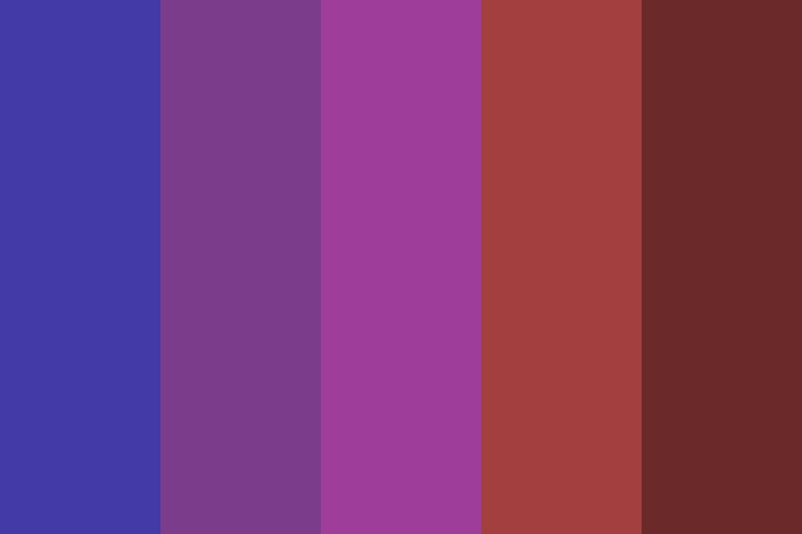 Bloody Night Color Palette