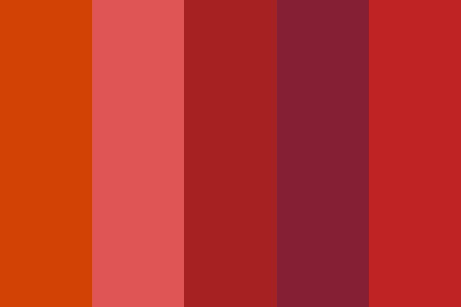 Bloody Nightmare Color Palette