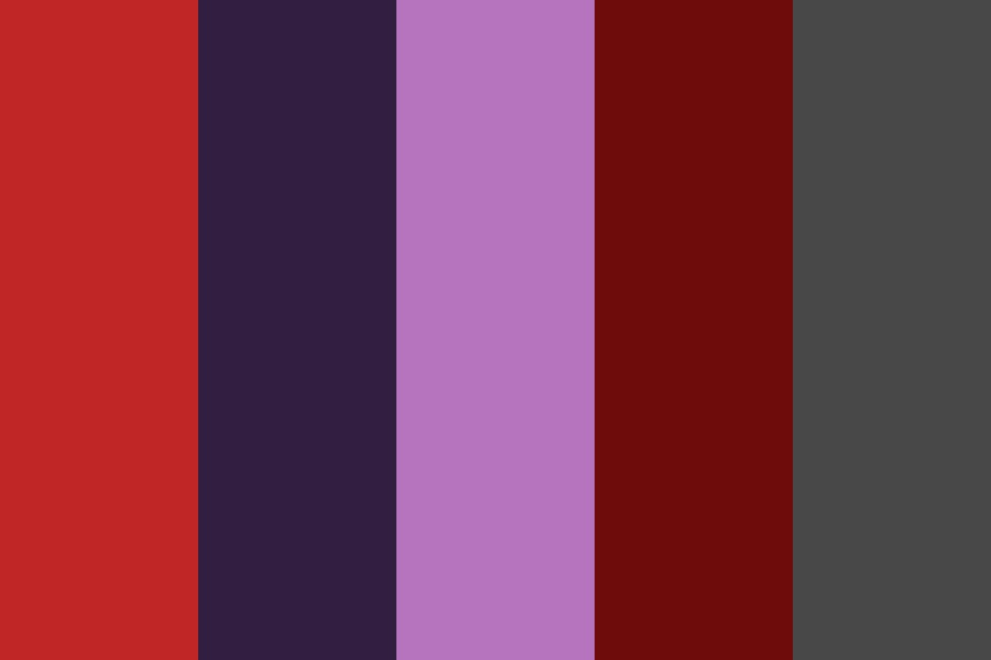 Bloody Nights Color Palette