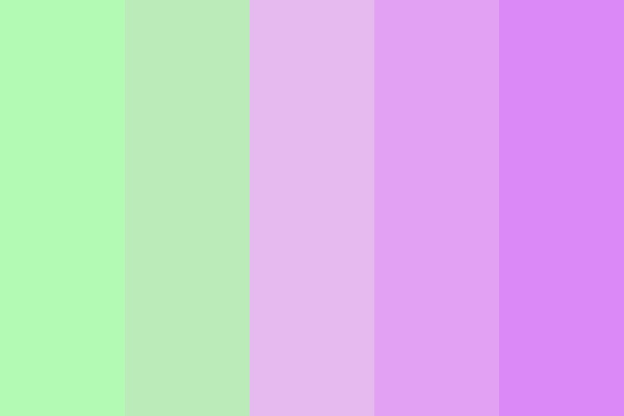 Bloom In Spring Color Palette