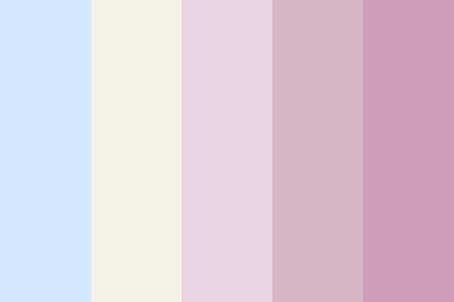 Blooming Flowers Color Palette