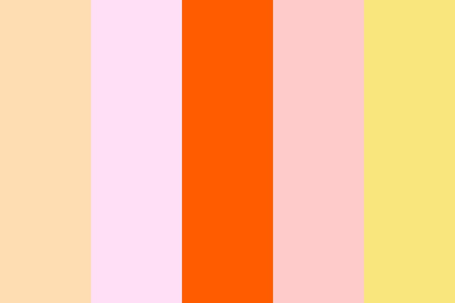 Blooming Sunrise Color Palette