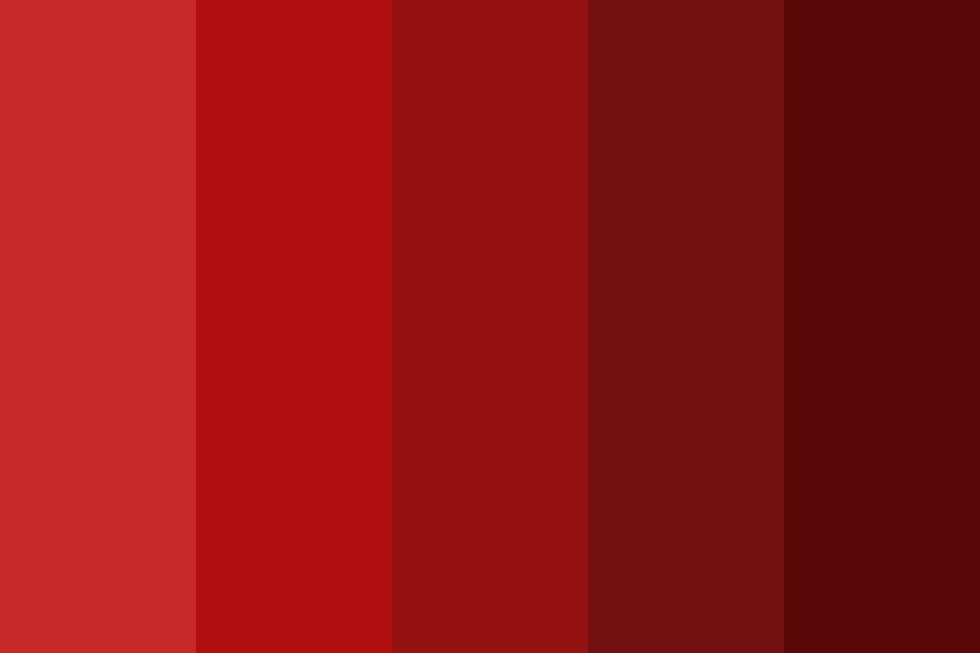 Blred Color Palette