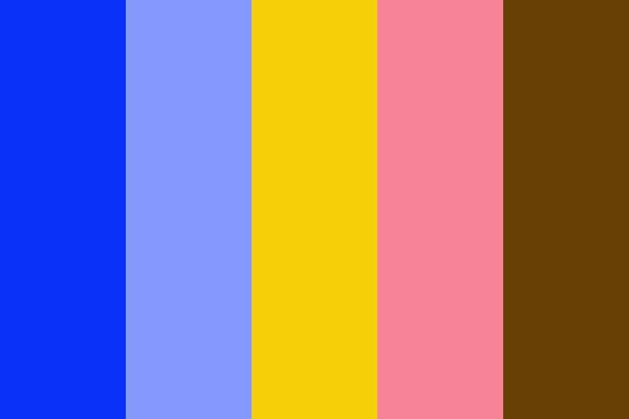 Blue And Yellow Wedding Palette Color Palette