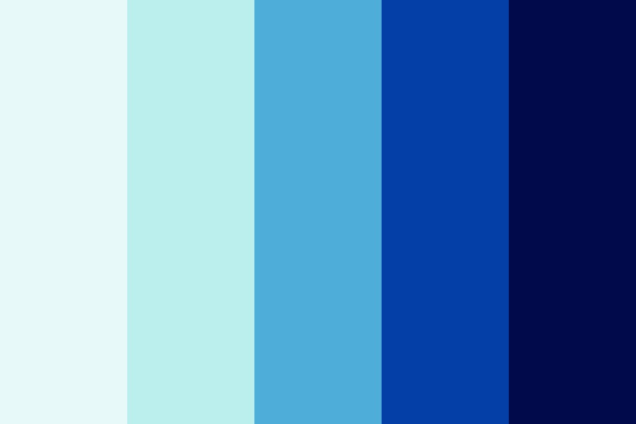 Blue Another Game Color Palette