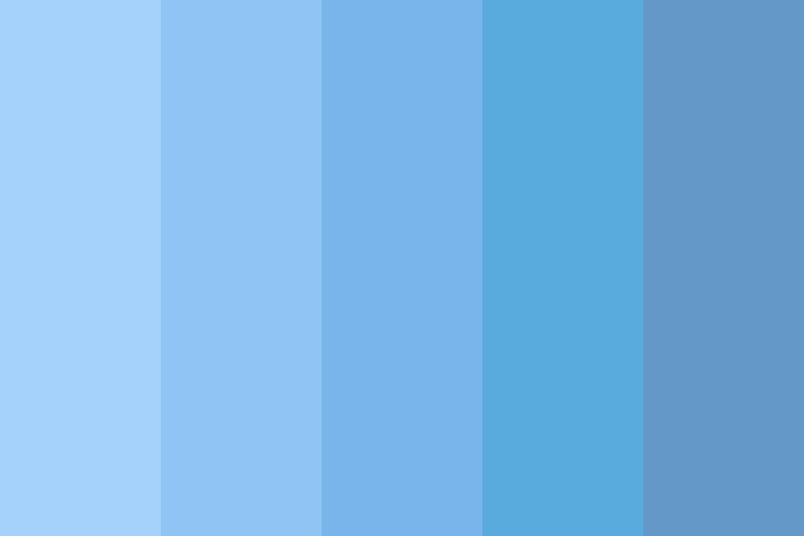Blue Berry Cheesecake Color Palette