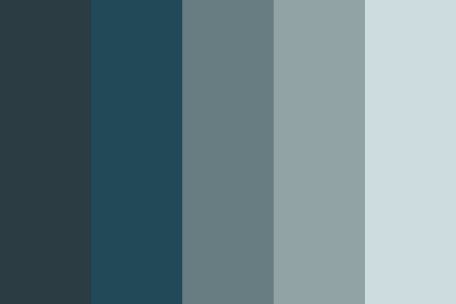 Blue Confusion Color Palette