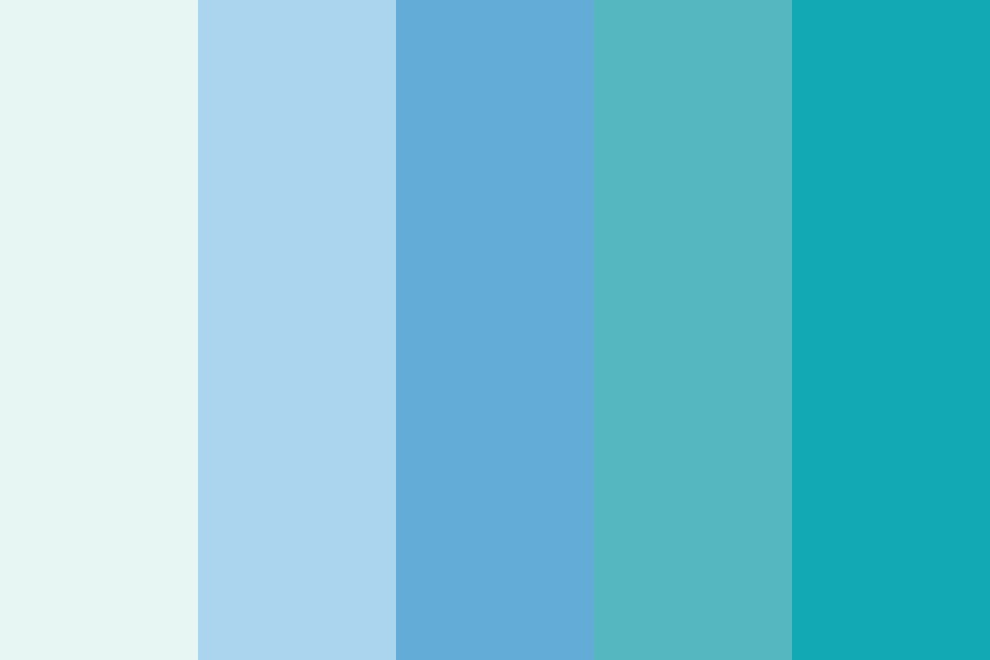 Blue Fam Color Palette