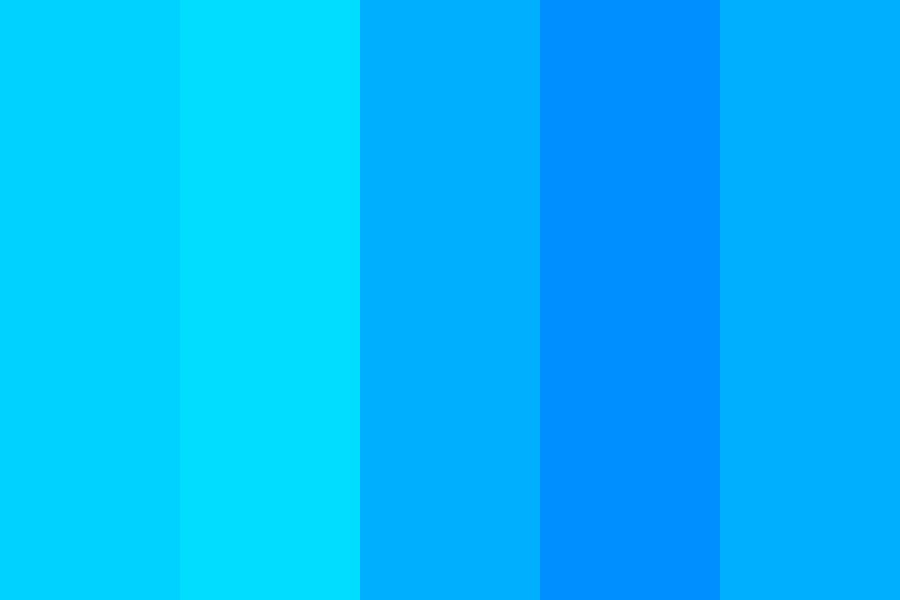 Blue Fest Color Palette