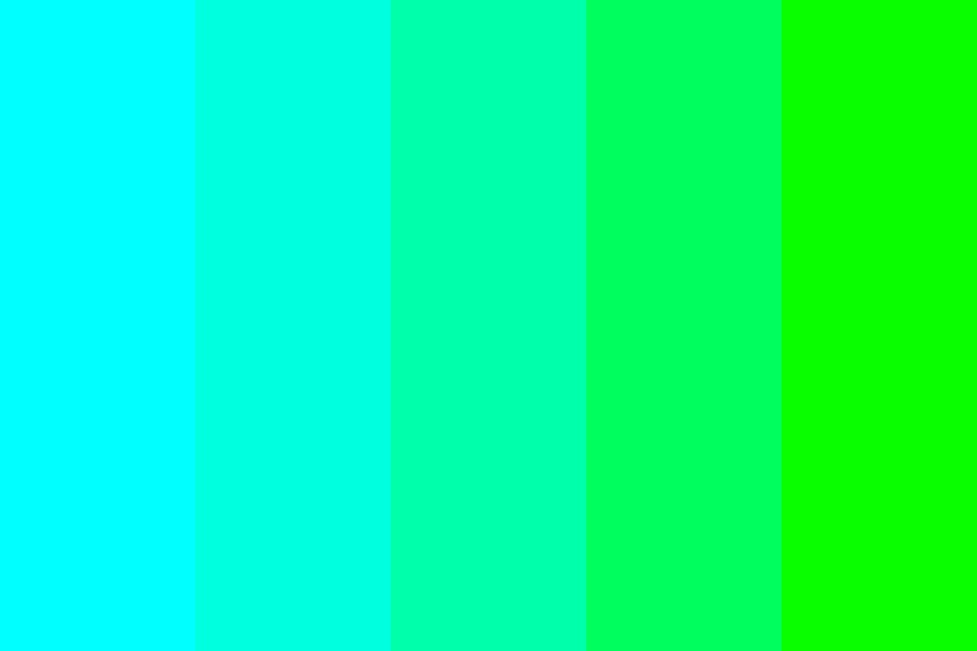 Blue Green Color Palette
