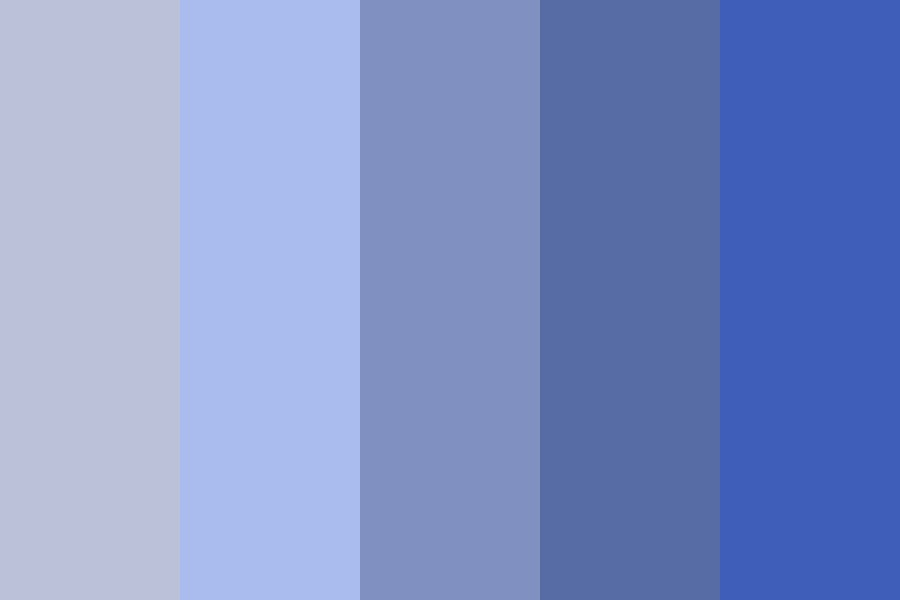 Blue Greys Color Palette