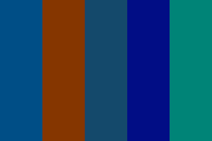 Blue Hcwh Europe Color Palette